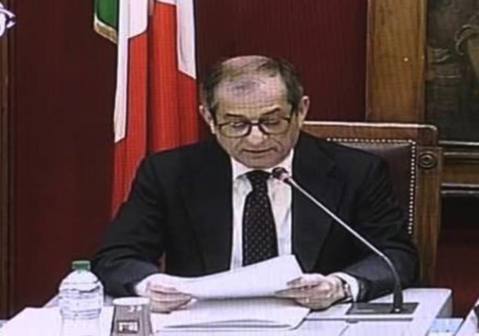 Giovanni Tria in Commissione