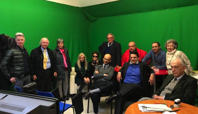 In redazione VicenzaPiù rappresentanti risparmiatori traditi da dx Bettiol, Mazzoni, Tognoni, Moschini, Cavalcante, Miatello, Zaggia, Belluco