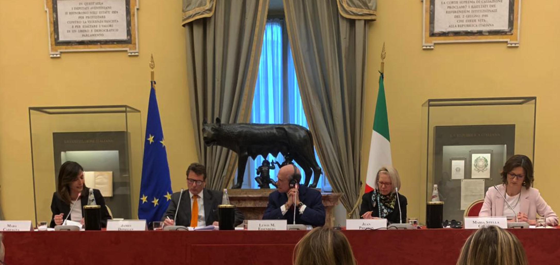 Ambasciatore usa con gelmini carfagna e fi l 39 intervista for Deputati di forza italia