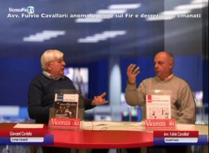 Adusbef e FIR (Fondo Indennizzo Risparmiatori): l'avv. Fulvio Cavallari interviene su VicenzaPiuTv