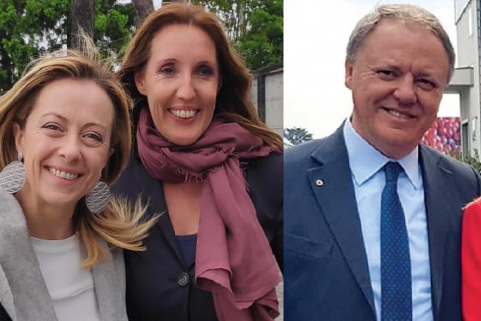 Giorgia Meloni (Fdi) con Elena Donazzan o con Sergio Berlato?
