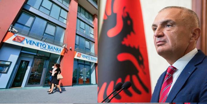 Il presidente dell'Albania Ilir Meta sollecita lo Stato ad occuparsi dei clienti albanesi di Veneto Banka e delle loro ipoteche