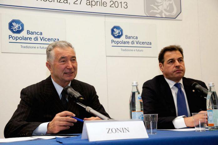 Baciate BPVi, Gianni Zonin a Samuele Sorato giocano a ping pong?
