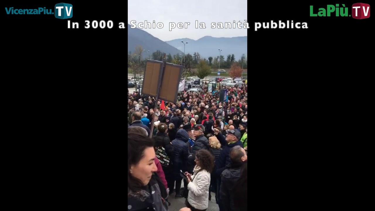In 3.000 sabato 16 a Schio, Usb Vicenza: no a privatizzazione RSA di Montecchio Precalcino dopo disastro dell'ospedale di Santorso - Vicenza Più