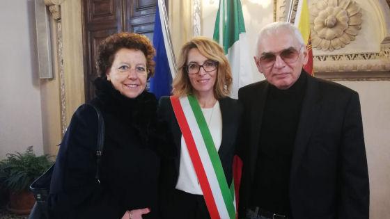 L'assessore Simona Siotto ha ricevuto in visita il regista ...