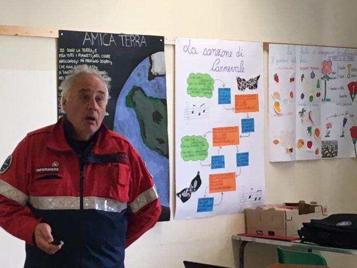 Marco Palano al Csv dall'Associazione Nazionale Carabinieri Asiago