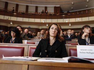 Carla Ruocco, presidente della Commissione d'inchiesta parlamentare sul sistema bancario e finanziario